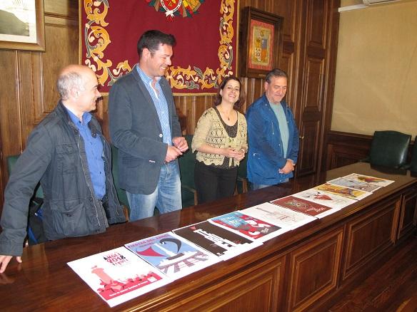 Presentación carteles finalistas Vaquilla 2018